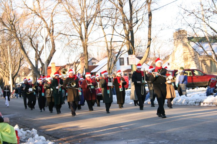 Marching Band, November 2012, Christmas Parade